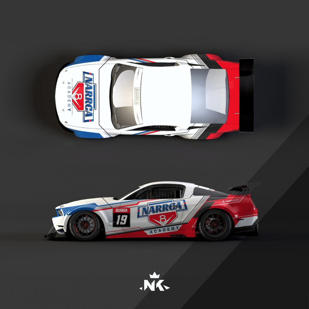 Narrca – Mustang – V8 Academy