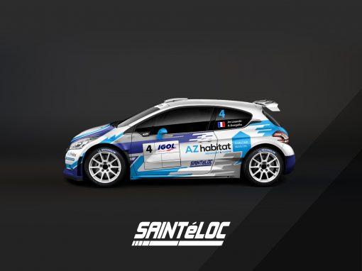 Peugeot 208 R5 Sainteloc